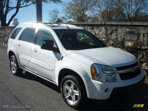 chevrolet equinox white 2005 summit white chevrolet equinox lt 22580974