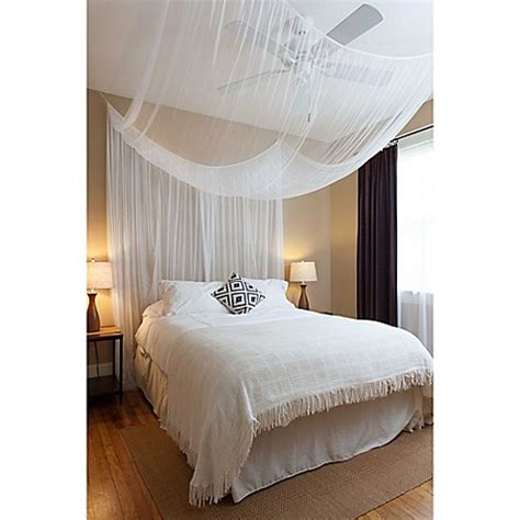 Poster Bed Canopy Cirrus 4 Poster Bed Canopy Bed Bath Beyond