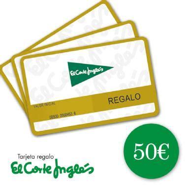 el corte ingl 201 s tarjeta regalo 50 eur membership rewards 174 - Corte Ingles Tarjeta Regalo