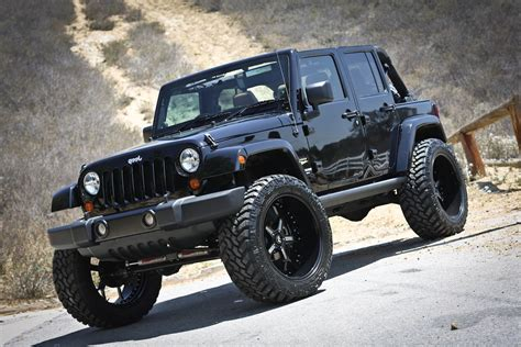 4 Door Lifted Jeep Rubicon 4 Free Engine Image For User