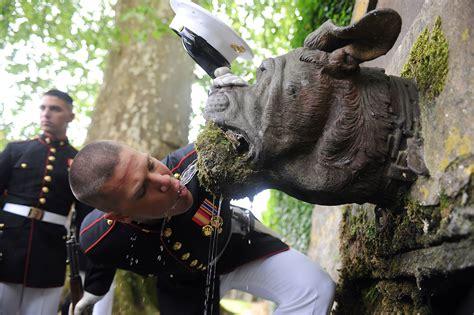 remembering belleau wood gt marine barracks gt news article