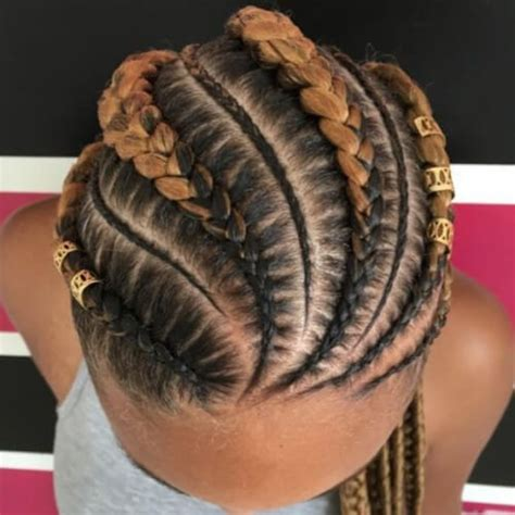 two toned braids two tone ghana braids cornrows beautiful hair