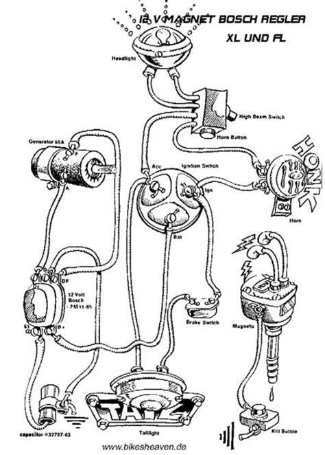 panhead generator wiring diagram panhead get free image