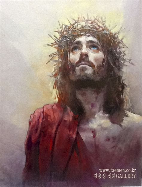 jesus painting yongsung powerful evocative of nine9
