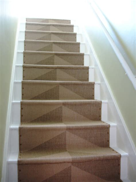 diy stairs loft cottage diy nailhead stair runner
