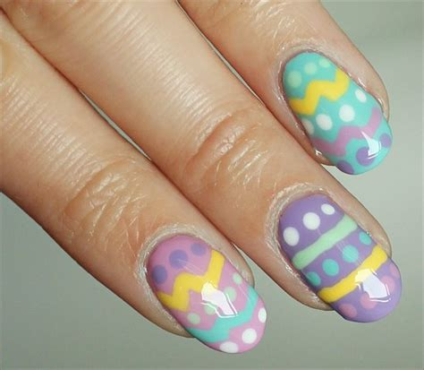 nail art easter tutorial easter nails tutorial images