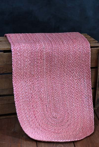 Coral Jute 48 Inch Tablerunner By Nancy S Nook The