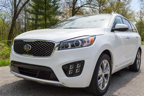 Ratings On Kia Sorento Review 2016 Kia Sorento Sx V6 95 Octane