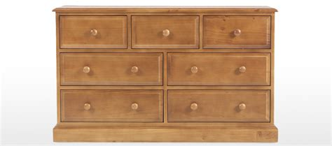 3 4 Chest Of Drawers by Essentials Pine 3 4 Chest Of Drawers Quercus Living