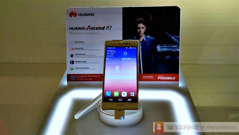 huawei launches flagship ascend p7 in malaysia alongside