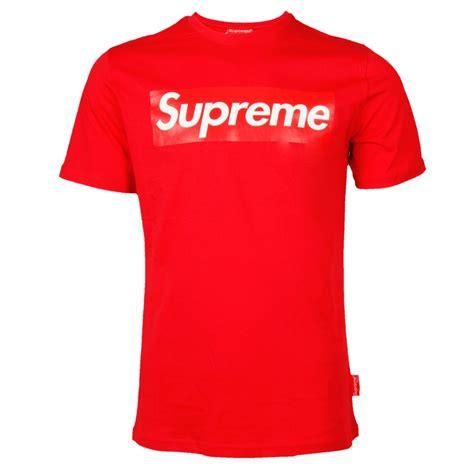supreme clothing europe supreme europe t shirt 02 rot anlegen 34 90