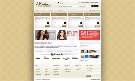 home page design sles all sales home page design ver 1 by vatandhingra on deviantart