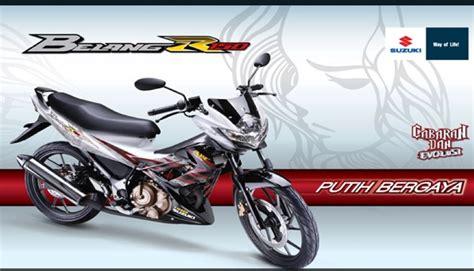 Suzuki Belang Motomalaya Suzuki Belang R150 Now Available In White