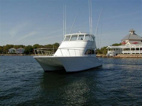 sport fishing boat hulls for sale 2001 catamaran sportfish 50 convertible yacht for sale