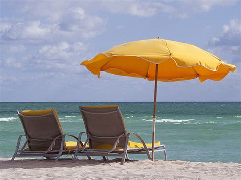 Surf The Web With The Umbrella by Miami Umbrella Lounge Chair Surf Flickr