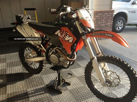 street legal motocross bikes 2011 ktm 450 exc enduro bike never seen dirt street legal