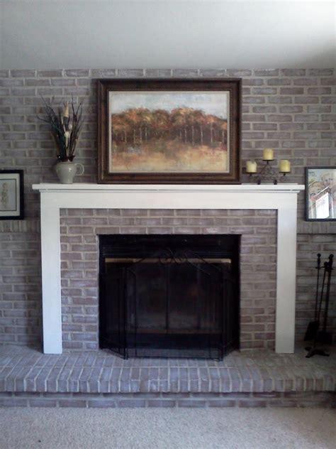 quick brick fireplace makeover kvrivercom