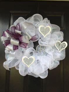 when should decs come wedding wreath just married wreath wedding decor by