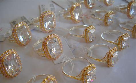 Perhiasaan Set Xuping Berlian Replika nazman enterprise cincin datin rossmah
