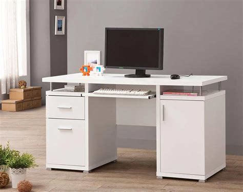White Company Desk by White Computer Desk Co 108 Computer Desks