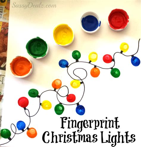 fingerprint light craft for diy card idea crafty morning