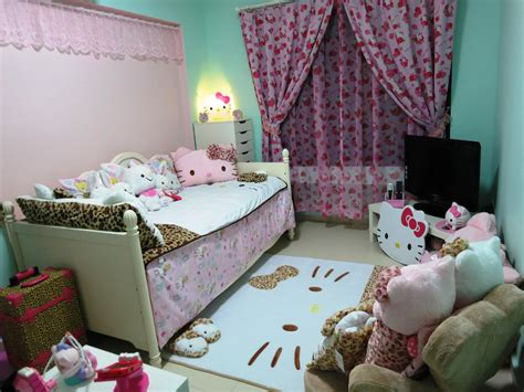 Girls Bathroom Ideas Hello Kitty Bedroom Set For Small Space House Design And