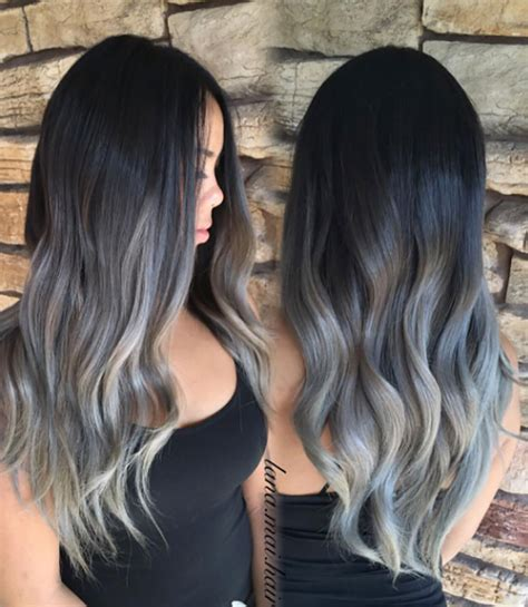 grey ombre grey ombr 233 hair is the newest color trend and it s