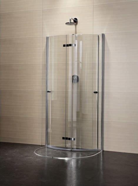doccia circolare box doccia semicircolare in cristallo con porte a battente