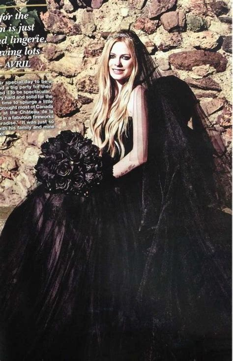 Avril Lavigne On A Stylish Wedding by 1000 Images About Avril Lavigne On