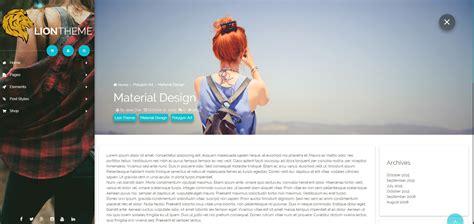 design menu wordpress material design menu interaction in upcoming wordpress
