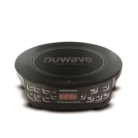 nuwave precision induction cooktop flex newstyle direct