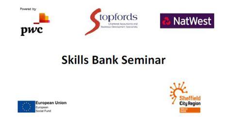 skills bank seminar destination chesterfield