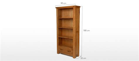 oak bookcase with drawers barham oak large bookcase with drawers quercus living
