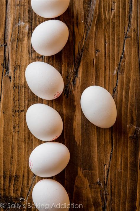 eggs at room temperature room temperature ingredients make a difference sallys baking addiction