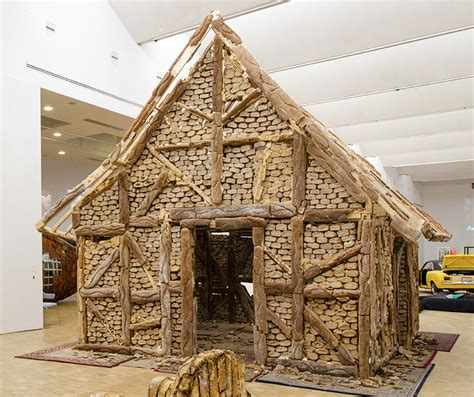 Bread Houses this entire house is built from loaves of bread arts and