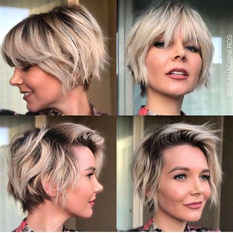 women hair cuts short growing bangs out 10 trendy layered short haircut ideas for 2017 2018