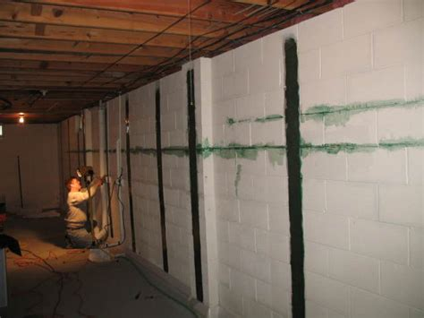 how to fix in basement wall repair your building s foundation jaco waterproofing
