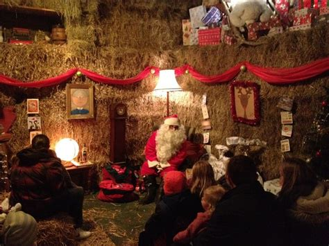santas grotto christmas pinterest