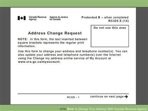 how to change your look how to change your address with canada revenue agency 6 steps