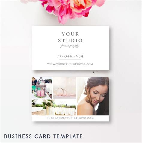 Marketing Cards Templates by Business Card Template For Photographers Photo Marketing