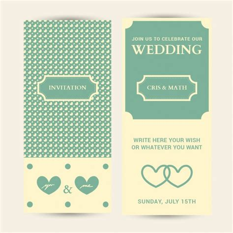 edit wedding invitation card wedding invitation card editable with hearts background vector free