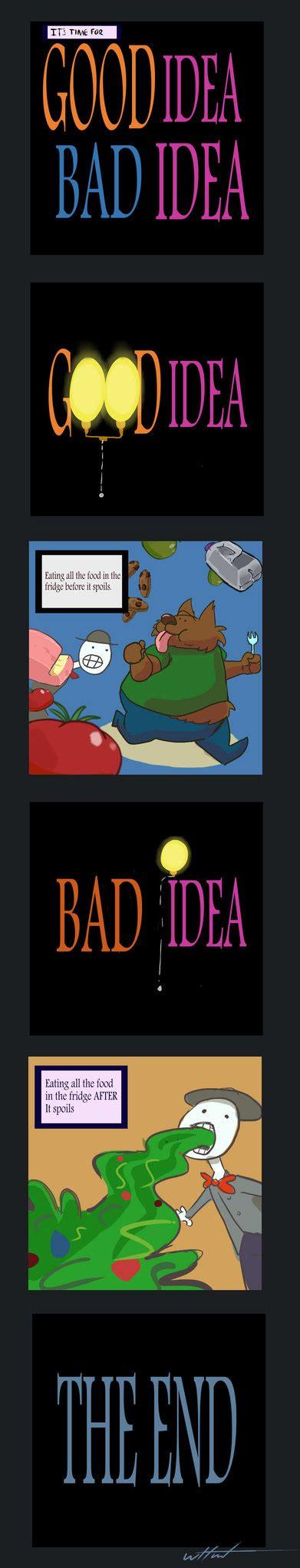 bad idea racing an 8 idea bad idea by digi on deviantart