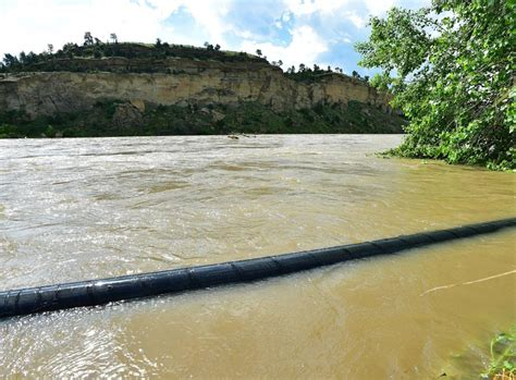 boating accident yellowstone river officials relieved as flooding outlook improves along