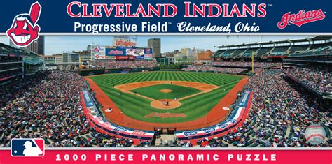 Progressive Field Gift Card - progressive field cleveland indians 1000pc panoramic puzzle