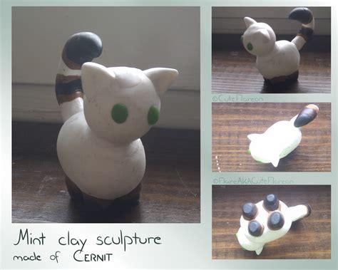 Handmade Clay Sculptures - handmade clay sculpture mint by cuteflare on deviantart