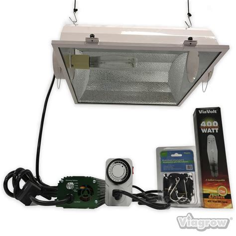 400 Watt Hps L by Viavolt 400 Watt Hps Mh White Grow Light System With Timer
