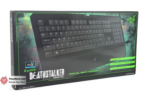 Razer Deathstalker Essential Deathadder 2013 หน าท 1 razer deathstalker essential 2014 review
