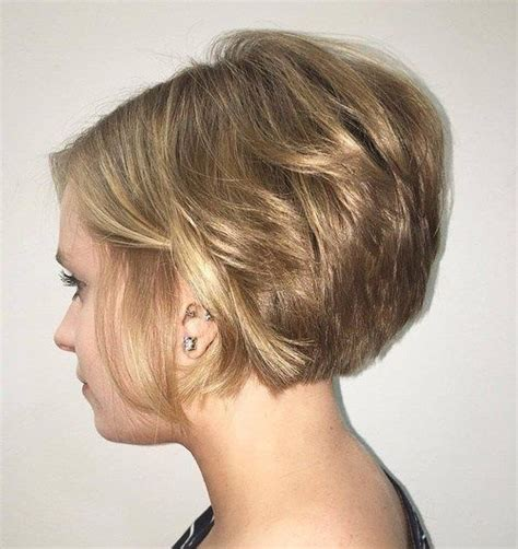 short hair with longer underlayers 60 classy short haircuts and hairstyles for thick hair