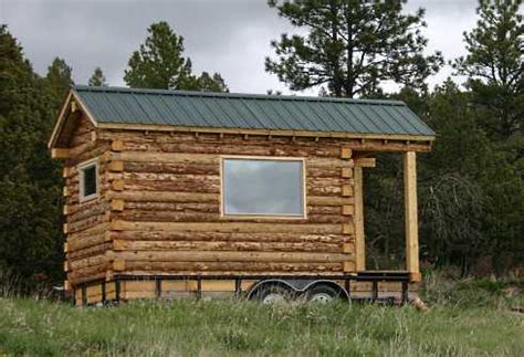 hunting cabin small trailer home manufactured homes tiny log cabin mobile homes log cabins to go