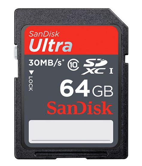 Memory Card Sdxc sandisk ultra sdxc card 64gb class 6 price in india buy sandisk ultra sdxc card 64gb class